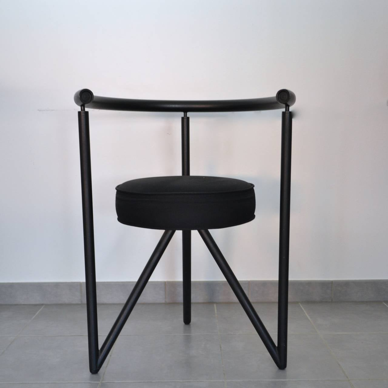 Set Of Four Miss Dorn Chairs By Philippe Starck 1982 At