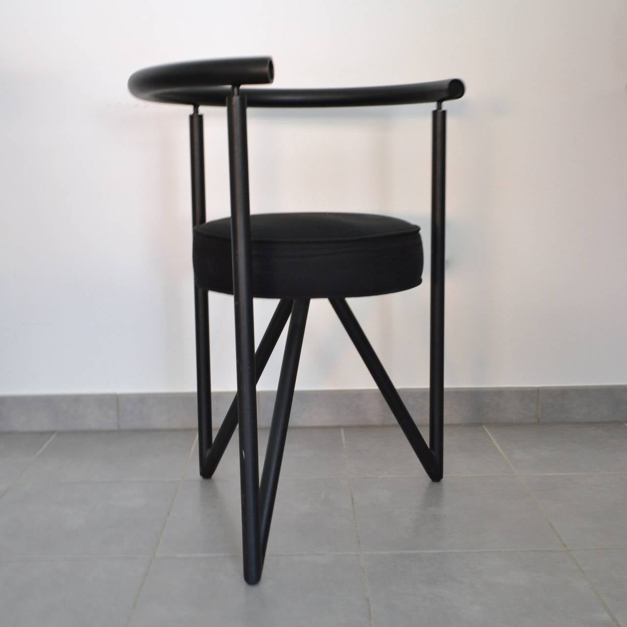 Set of four miss dorn chairs by philippe starck 1982 at 1stdibs - Chaises philippe starck ...