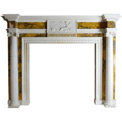 18th Century Irish Chimneypiece