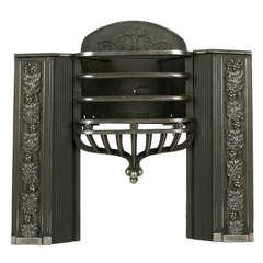 Cast Iron Regency Half Hob Grate 'CAST-V85', circa 1830