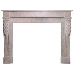19th Century French Marble Mantel