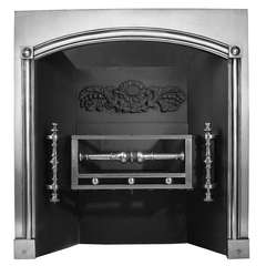 Regency Cast Iron Register Grate 'CAST-ZB39', circa 1810