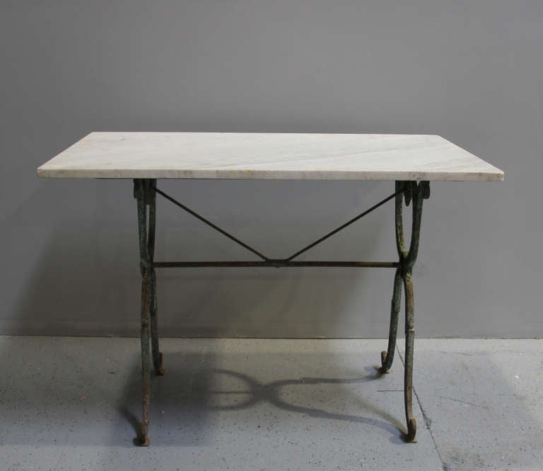 19th Century French Cafe Or Garden Table 2