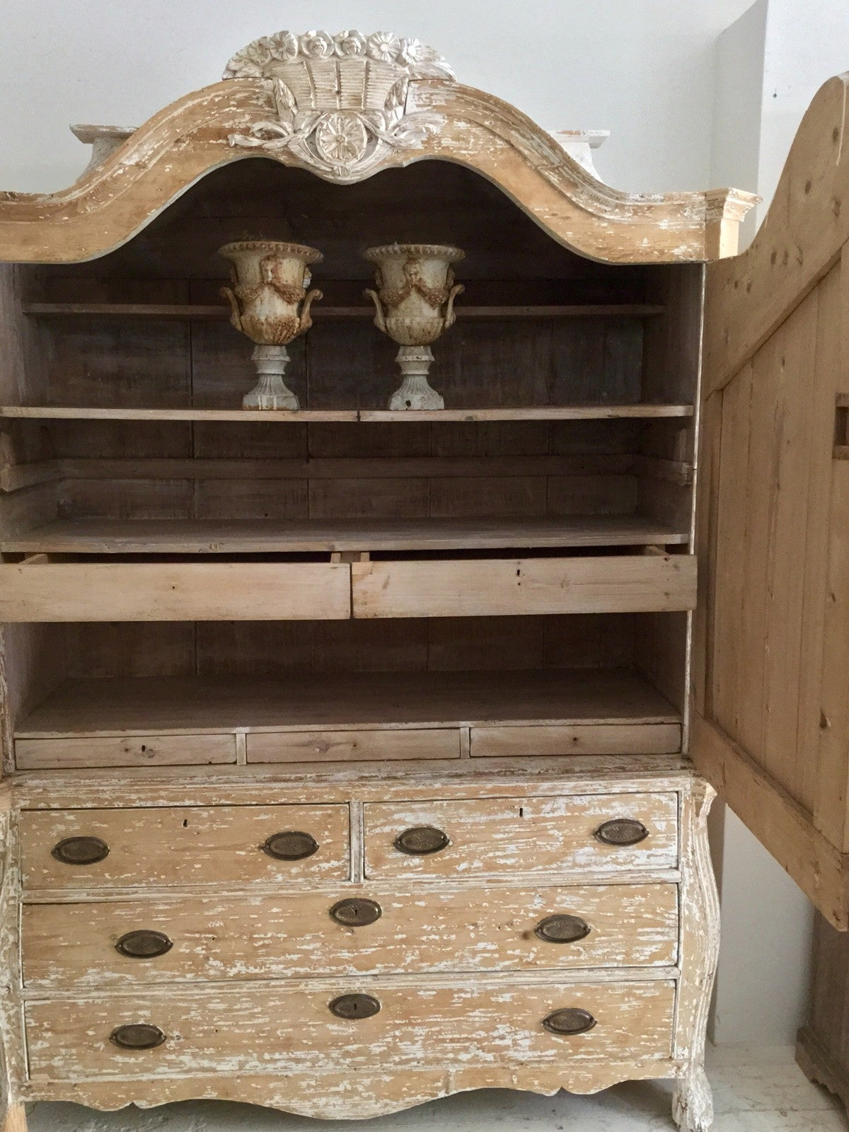 19th century french rococo style buffet deux corps at 1stdibs for French rococo period