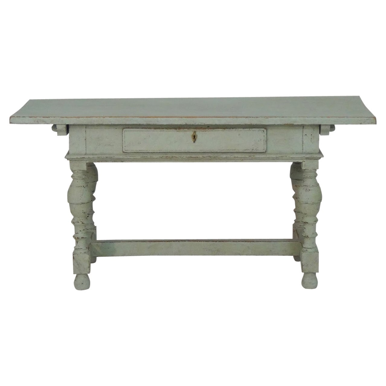 19th century swedish baroque style center table at 1stdibs for Table th center text