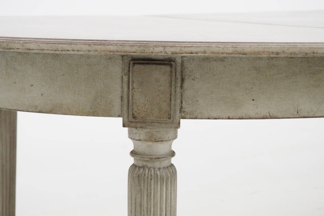 19th Century Swedish Gustavian Style Extension Dining
