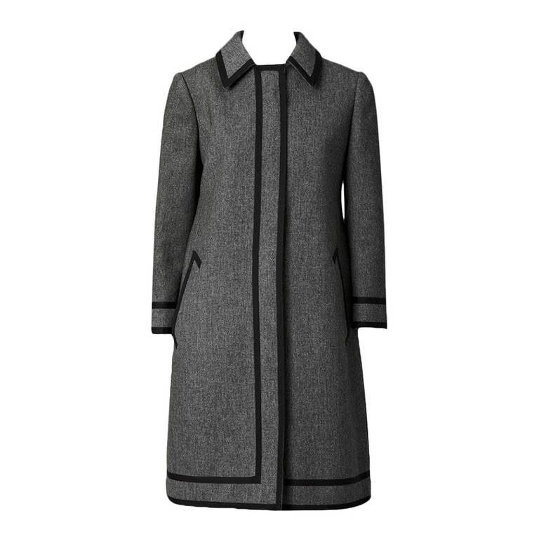 Goeffrey Beene Wool Coat Dress For Sale