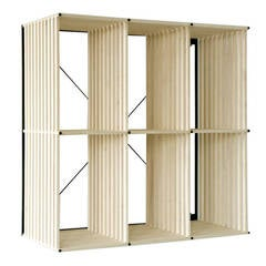 PK Reol Bookcase Designed by Poul Kjaerholm, Denmark, 1979
