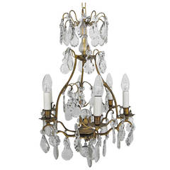 French Bird Cage Chandelier
