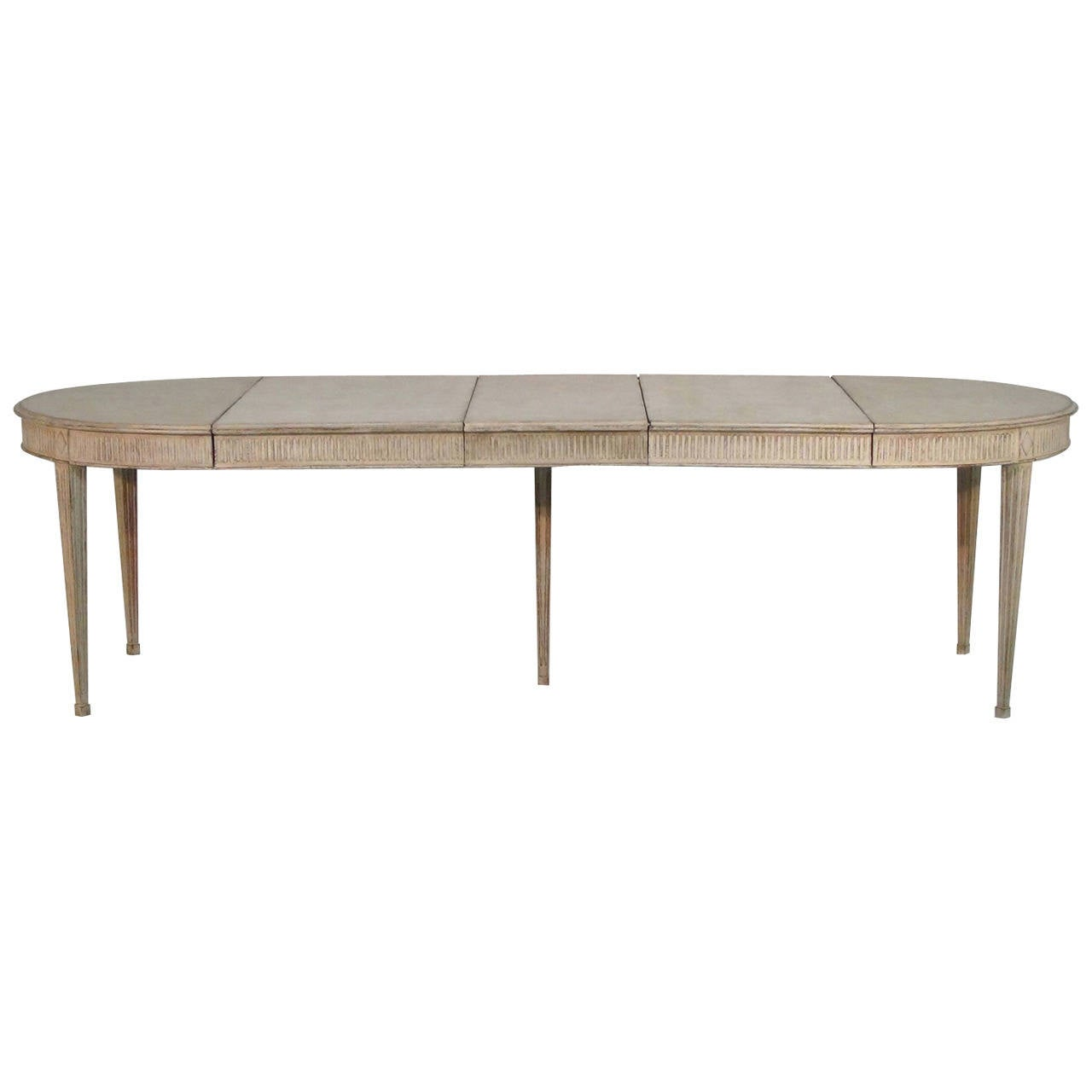 Superb img of Swedish Dining Table in the Gustavian Style at 1stdibs with #654B39 color and 1280x1280 pixels
