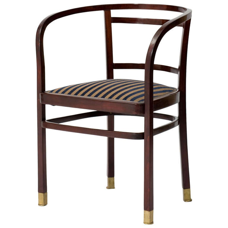 Otto Wagner J And J Kohn Chair Vienna Secession 1902