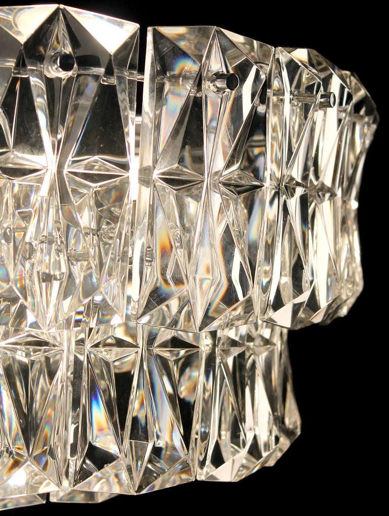 19 Quot 3 Tier Kinkeldey Crystal Chandelier Flush Mount Light