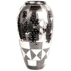 French Art Deco Christofle Style Vase
