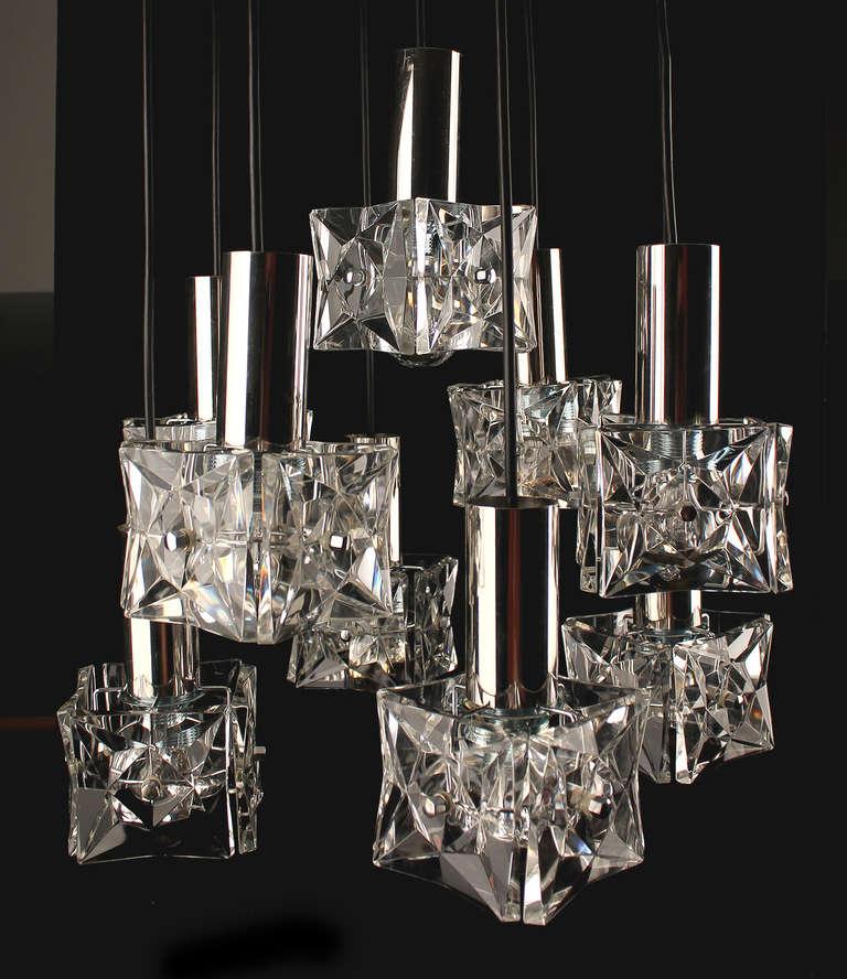 kinkeldey crystal chandelier suspension lustre lampara. Black Bedroom Furniture Sets. Home Design Ideas