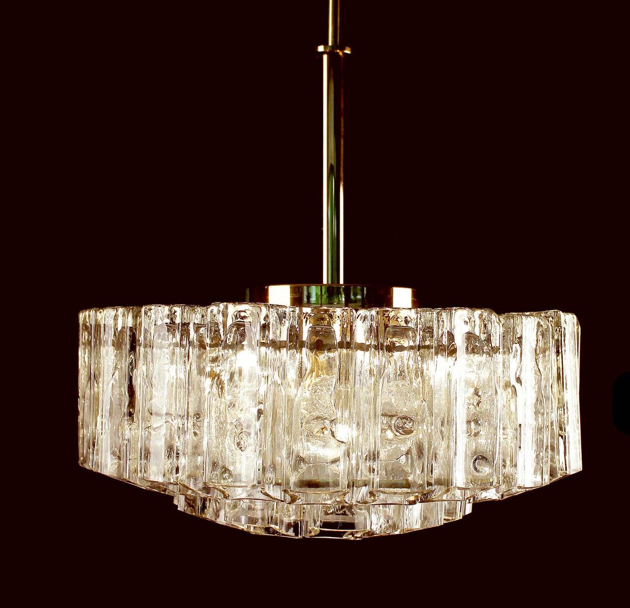 Doria crystal chandelier suspension lustre lampara for Lustre double suspension