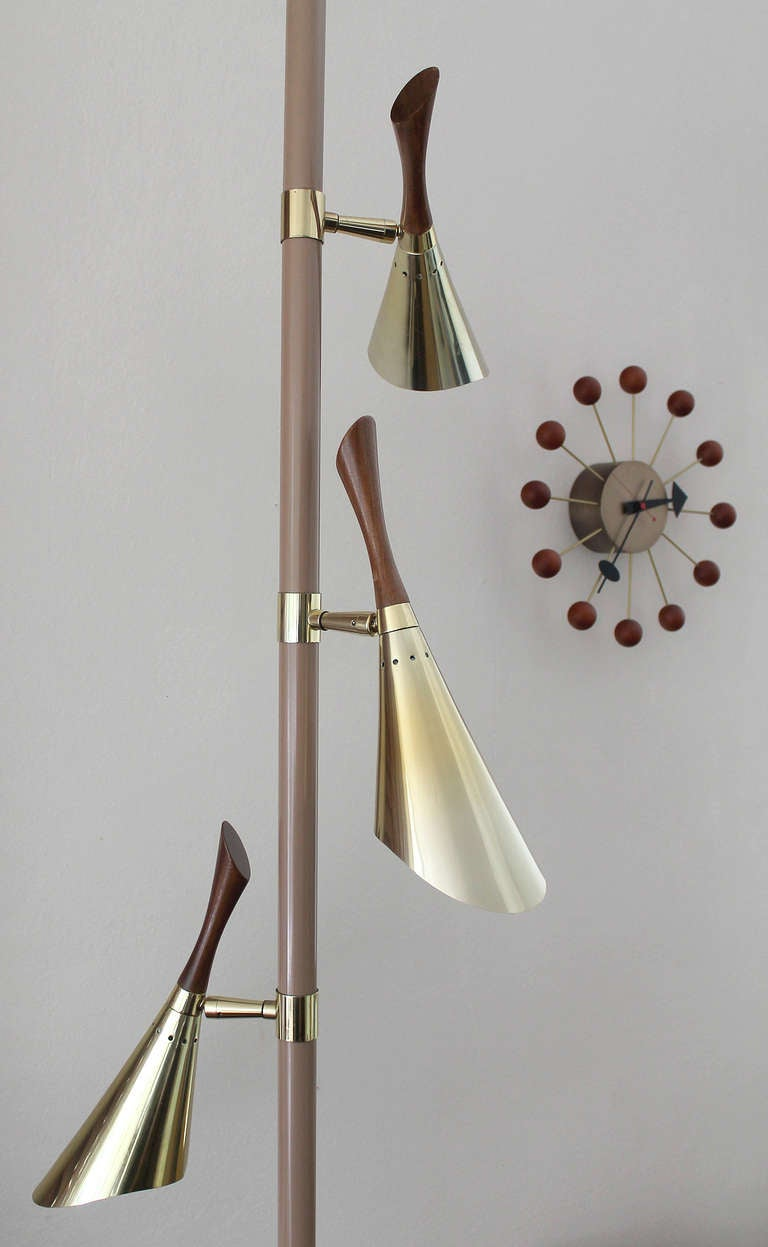 this 1950s 3 lights tension pole floor lamp is no longer available. Black Bedroom Furniture Sets. Home Design Ideas