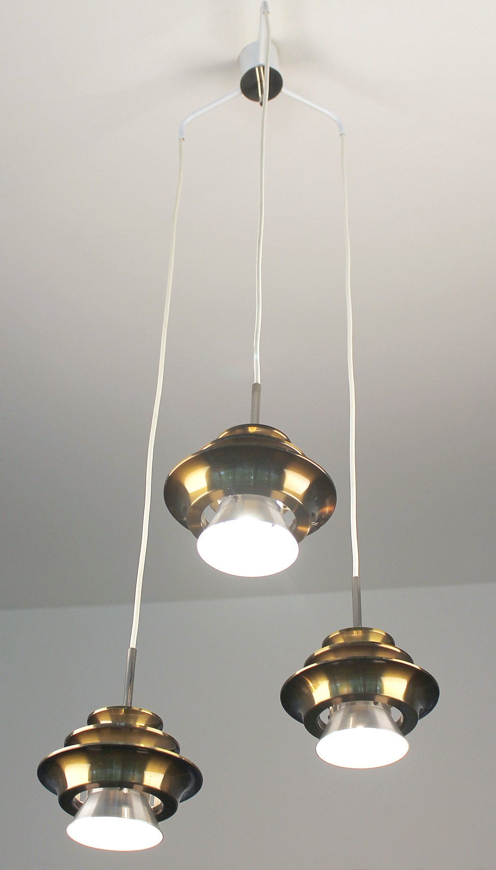 three tier danish modern lyfa chandelier ceiling lamps pendant