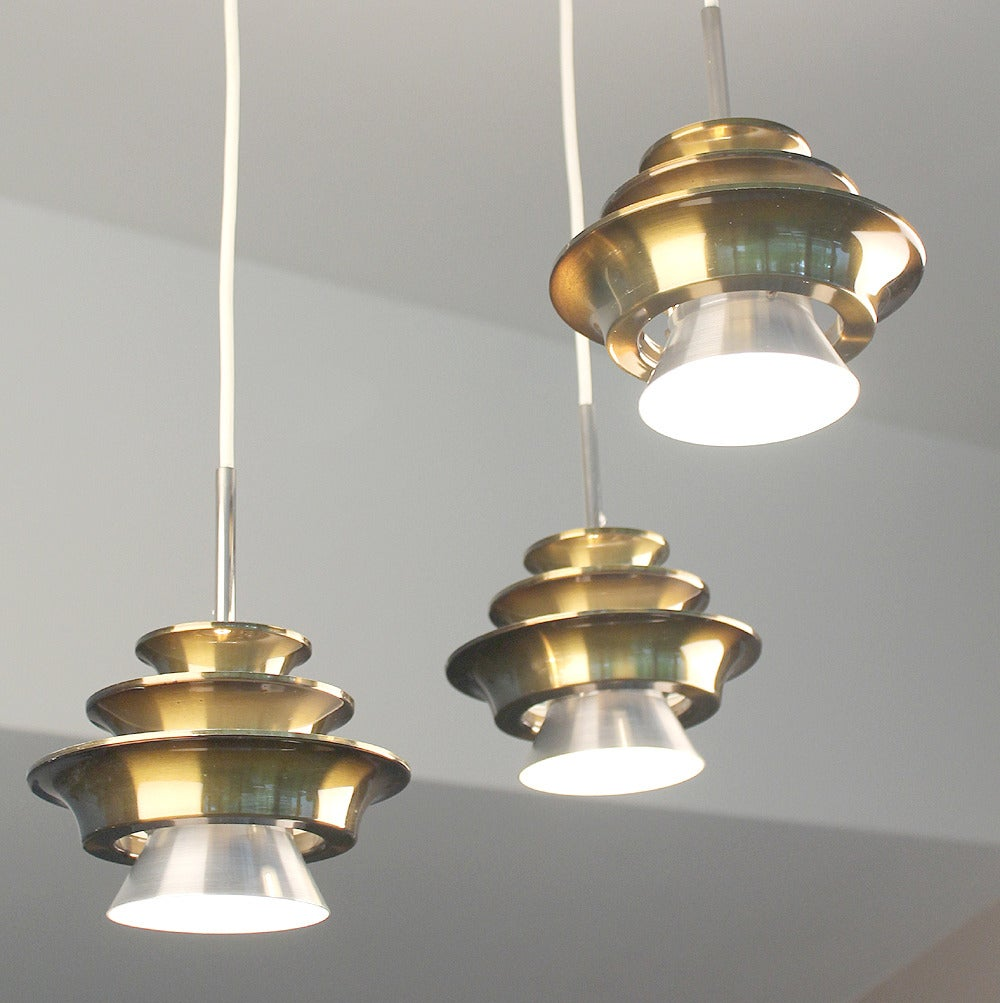 Danish modern lyfa chandelier 1970s for sale at 1stdibs for Danish modern light fixtures
