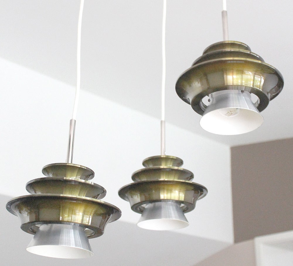 three tier danish modern lyfa chandelier ceiling light fixture pendant