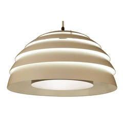 Large Hans Agne Jacobsen Chandelier, 1960s Danish Modern Modernist Pendant Lamp