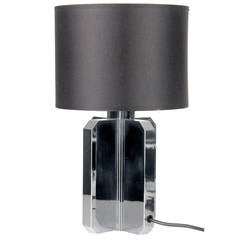 Maison Charles Table Lamp,  French Modernist Design, 1960s 1970s