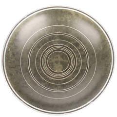 Carl Sorensen Art Deco Bronze Patinated Bowl,1930s Modernist Design