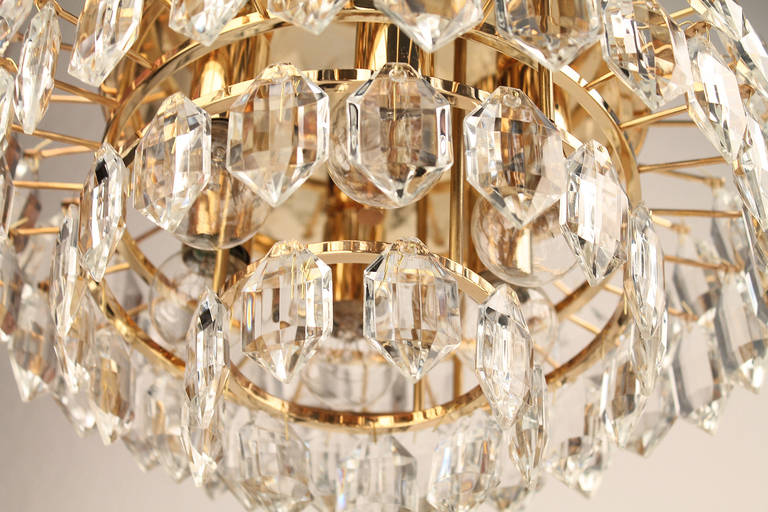 Bakalowits crystal chandelier suspension lustre lampara lampada hanglamp at 1 - Ancien lustre suspension ...