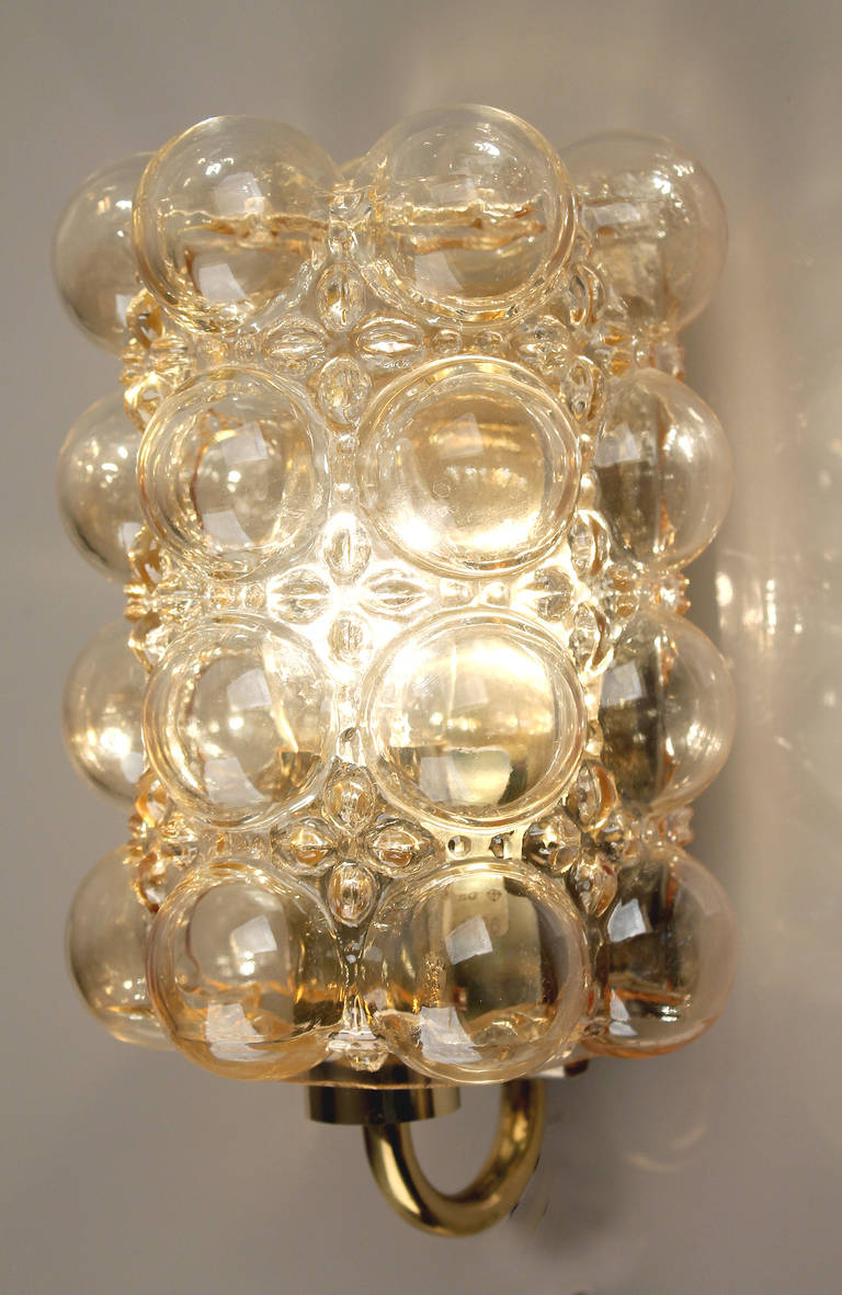 Limburg Bubble Glass Sconce Wall Lights at 1stdibs