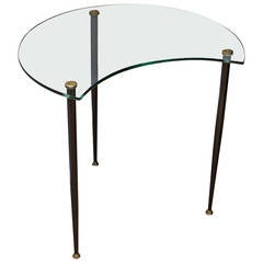 Side table by Edoardo Paoli Italy circ 1955
