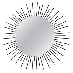 Very Large Sunburst Mirror, France, circa 1955