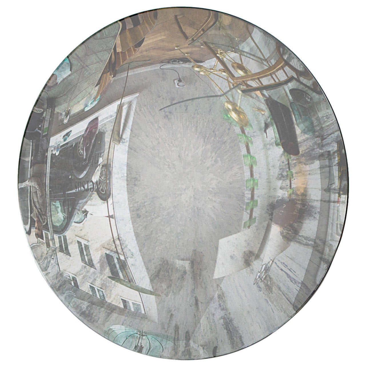 Fantastic concave mirror by french artist christophe for Concave mirror