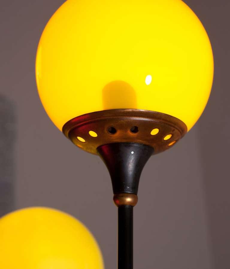 Italian Floor Lamp Attributed To Stilnovo,  Italy Circa 1950 6