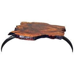 "Organic Sofa Table, ""Lupus"" by Jaro Komon"
