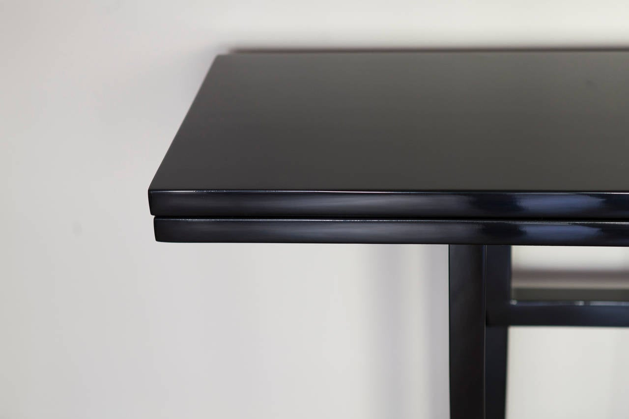 Mid-Century Modern Console Table by Maison Jansen, France circa 1970 For Sale
