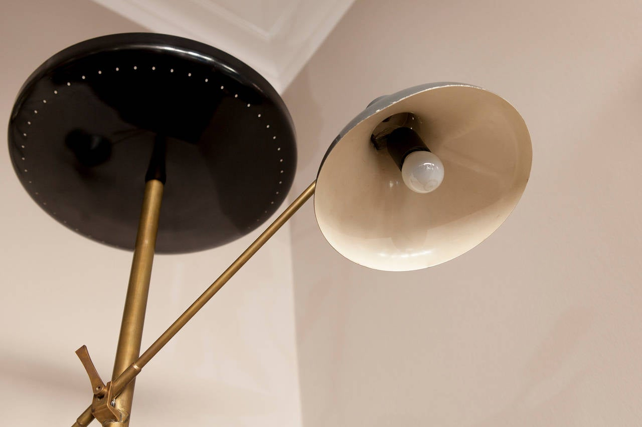 Mid-20th Century Italian Floor Lamp, Italy circa 1950 For Sale