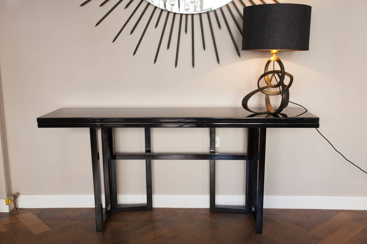 Late 20th Century Console Table by Maison Jansen, France circa 1970 For Sale