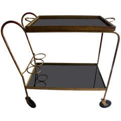Tea Trolley Jean Royère, France circa 1950