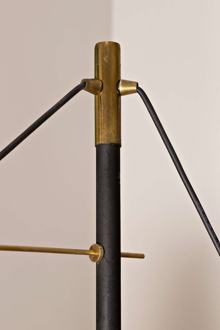 Mid-20th Century Floor Lamp by Vistosi, Italy circa 1960 For Sale