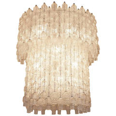 Big Chandelier by Archimede Seguso, Italy, circa 1955
