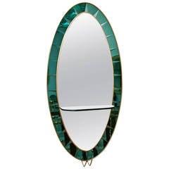 Cristal Art, Mirror Italy circa 1960