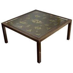 Willy Daro  table, France ca. 1970