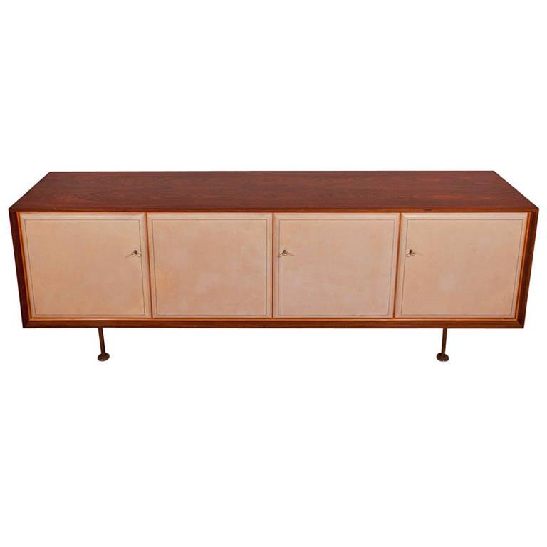 otto schulz sideboard for boet sweden circa 1950 for. Black Bedroom Furniture Sets. Home Design Ideas