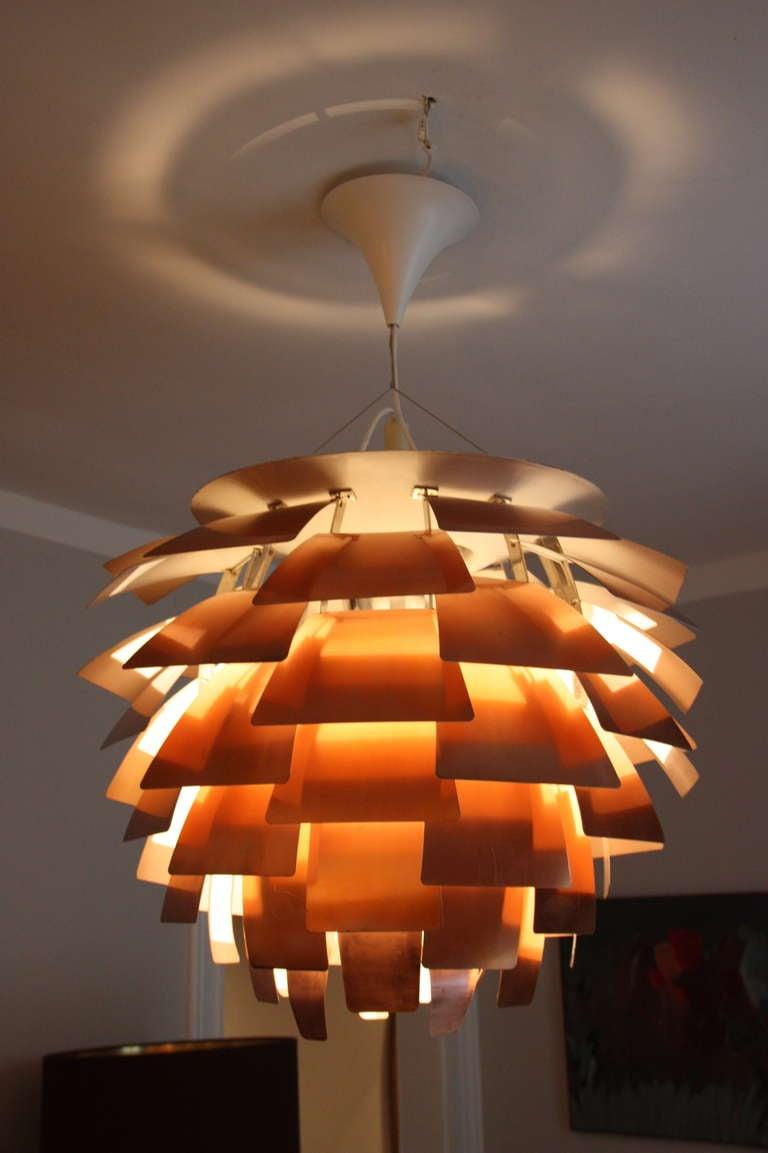 Louis Poulsen Artichoke Lamp by PH c.1960, Diam 84cm 4