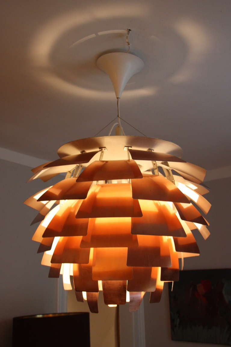 Louis Poulsen Artichoke Lamp By Ph C 1960 Diam 84cm At