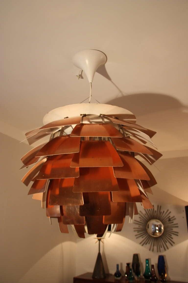 Louis Poulsen Artichoke Lamp by PH c.1960, Diam 84cm 2
