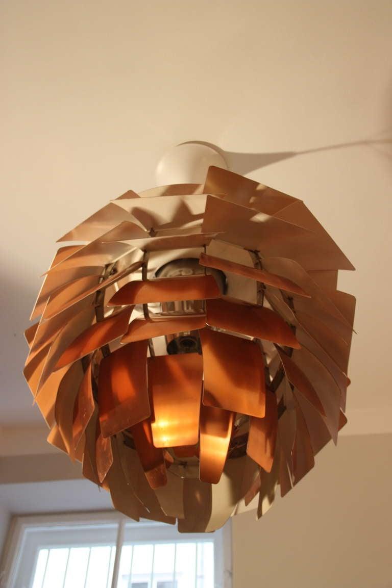 Louis Poulsen Artichoke Lamp by PH c.1960, Diam 84cm 10