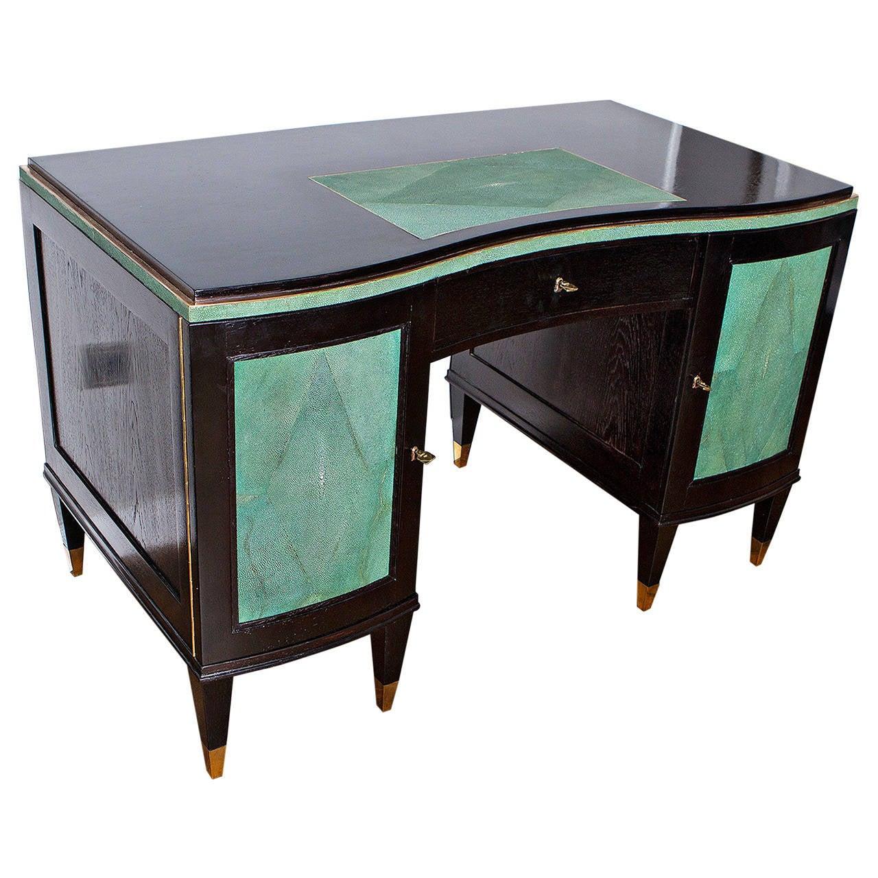Elegant Art Deco Desk France circa 1935 at 1stdibs