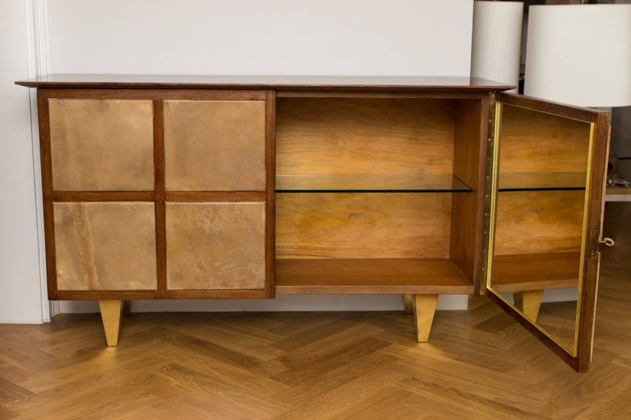 cabinet in the style of jean michel frank circa 1940 at 1stdibs
