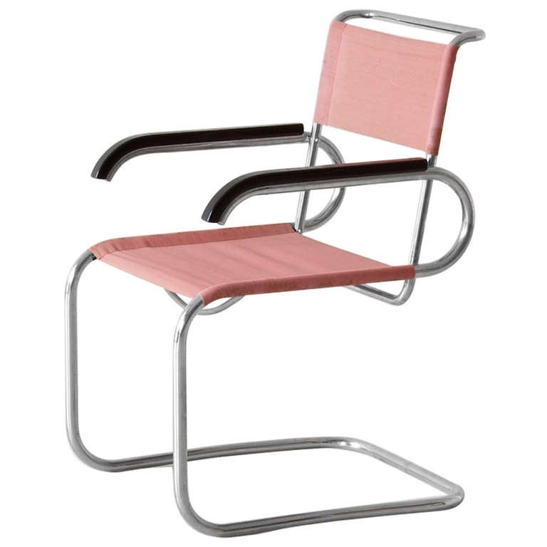b55 cantilever chair by marcel breuer for thonet at 1stdibs - Marcel Breuer Freischwinger