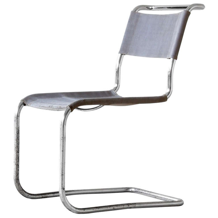 marcel breuer cantilever chair at 1stdibs. Black Bedroom Furniture Sets. Home Design Ideas